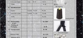 Cost Sheet-Trapezium Dress